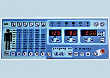 Soft touch control panel